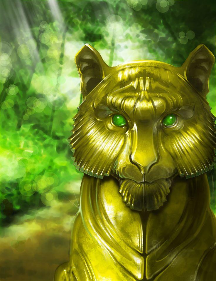 La Tigre dagli Occhi di Giada by Dessin75.deviantart.com on @DeviantArt