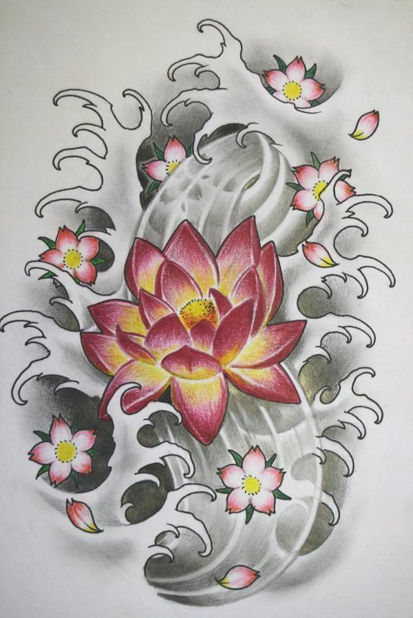 Image Result For Image Result For Japanese Koi Flower Sleeve Tattoos