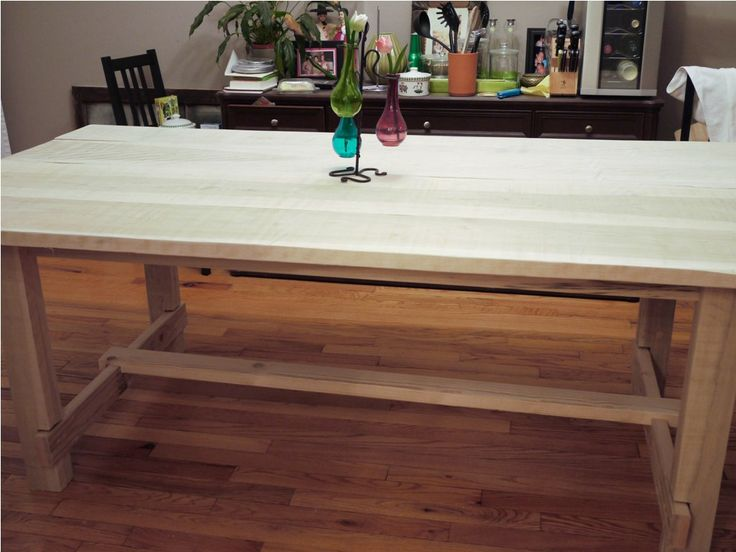 The 25+ Best Butcher Block Tables Ideas On Pinterest | Butcher Block Table  Tops, Block Table And Butcher Block Counters