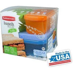 Rubbermaid Boys' Lunch Kit, Tall- Kai