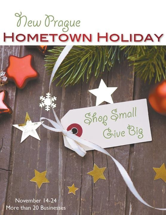 Hometown Holiday New Prague, MN #Shoplocal  #bargainbettys