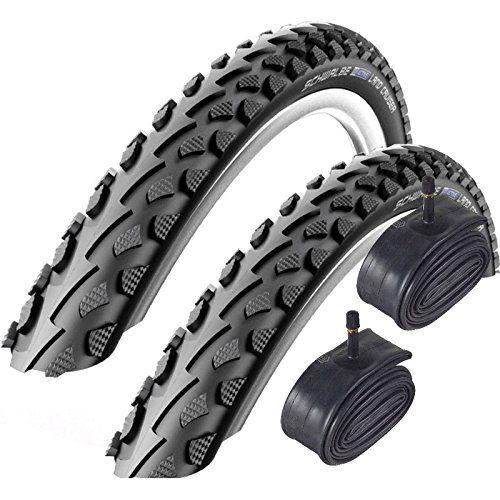 From 22.18 Schwalbe Land Cruiser 700 X 35c Hybrid Bike Tyres With Schrader Tubes (pair)