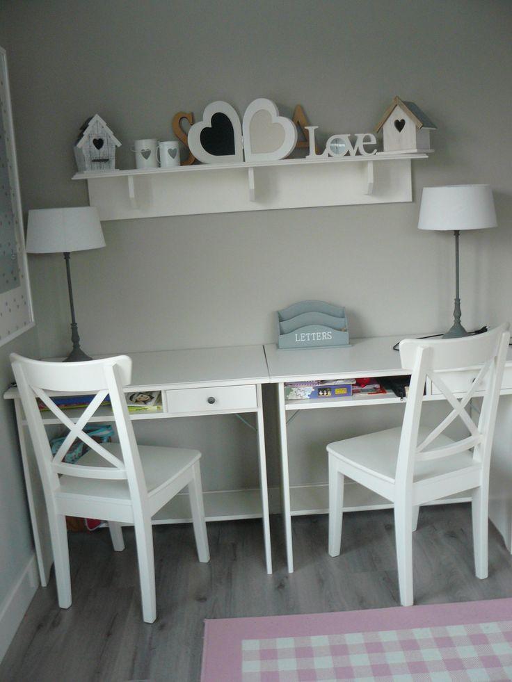 Meer dan 1000 idee n over meisjes slaapkamer decoraties op pinterest kinderen kapstokken - Decoratie slaapkamer tiener meisje ...