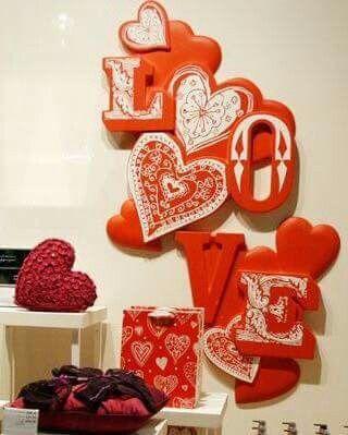 Valentine's day display-retail