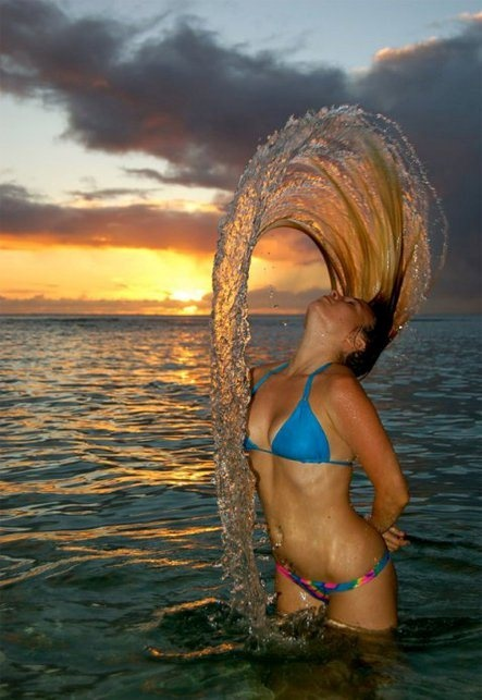 .: Perfect Time Photo, Mermaids Hair, Wet Hair, High Speed Photography, Hair Flip, Photography Tips, Action Photography, Hairflip, Shutters Speed