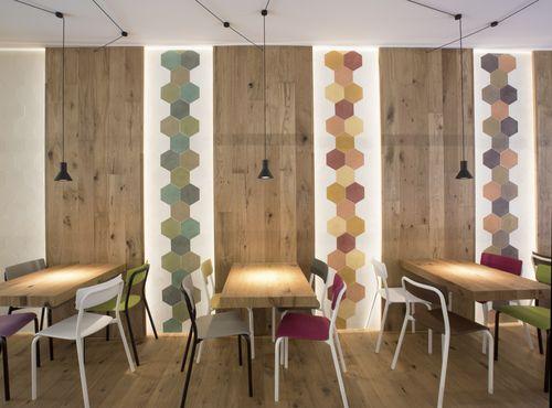 Menichetti+Caldarelli Architetti — LA GELATERIA Pretty Wood Rovere Loto