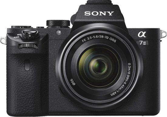 Sony Alpha A7 Ii Full Frame Mirrorless Camera With 28