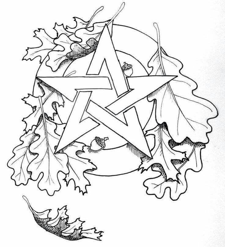 best pagan coloring pages images on pinterest