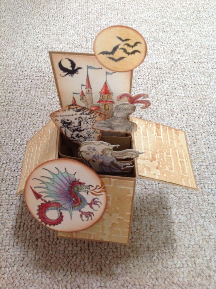 Fairy tale Box by Susan of Art Attic Studio
