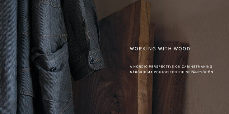 """NOVEMBER STORIES: """"WORKING WITH WOOD - a Nordic perspective on cabinetmaking"""", a book telling the Nikari story celebrating our 50th anniversary is soon available"""
