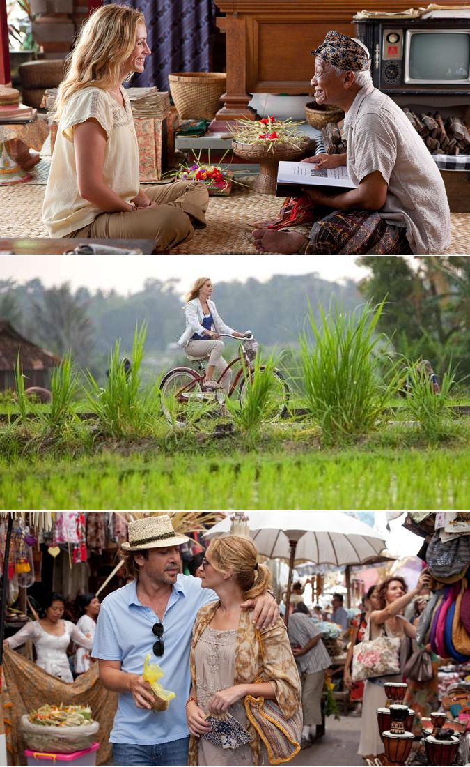 Eat, Pray, Love in Bali