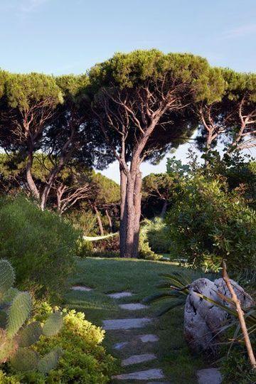 Ouverture majestueuse sur le jardin - Le petit plus qui fait le charme du jardin - CôtéMaison.fr