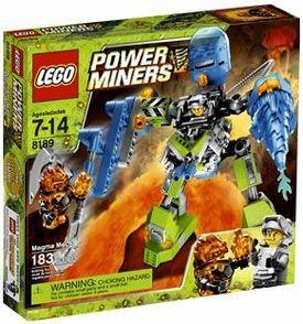 LEGO Power Miners Set #8189 Magma Mech