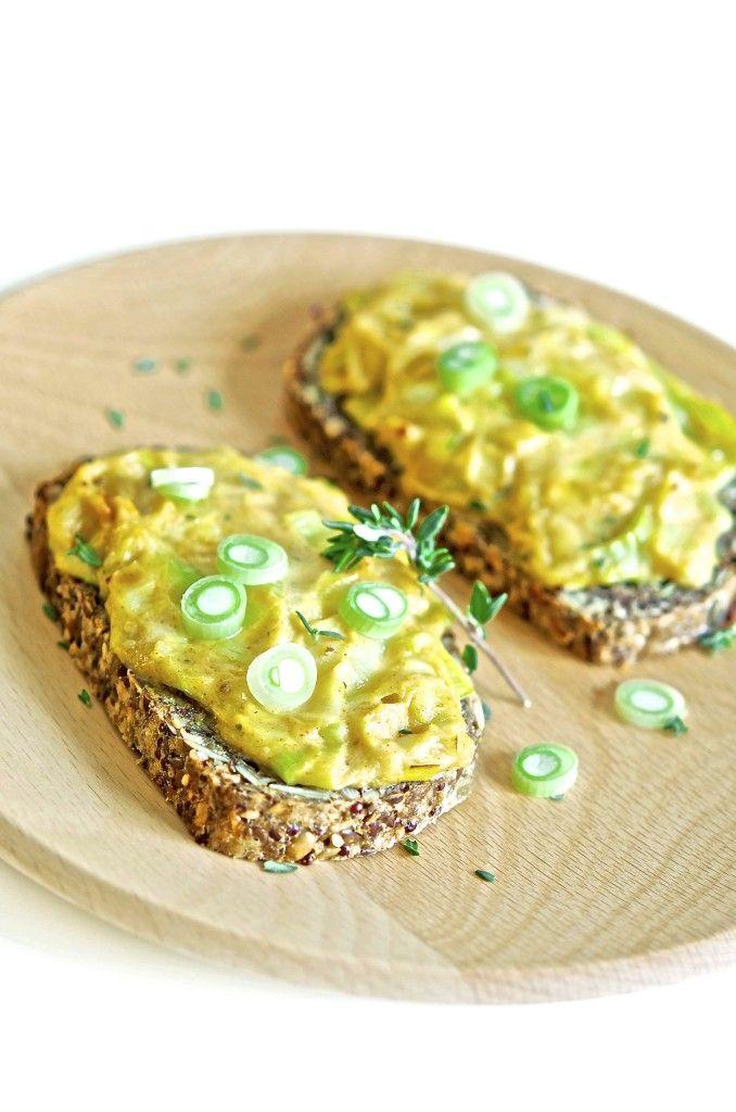 Purre- og ostesmørbrød