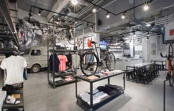 Upscale Bike Stores - The Rapha Cycle Club is a Mod Haven for Exercise Enthusiasts