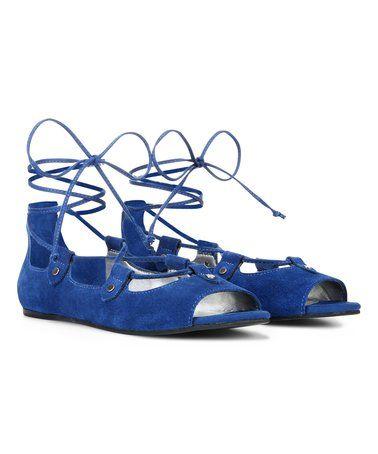 Loving this Sapphire Blue Eden Flat on #zulily! #zulilyfinds