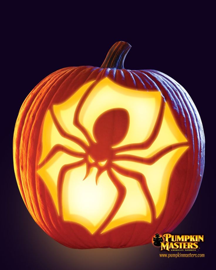 Quot brown recluse pattern from the pumpkin masters carving
