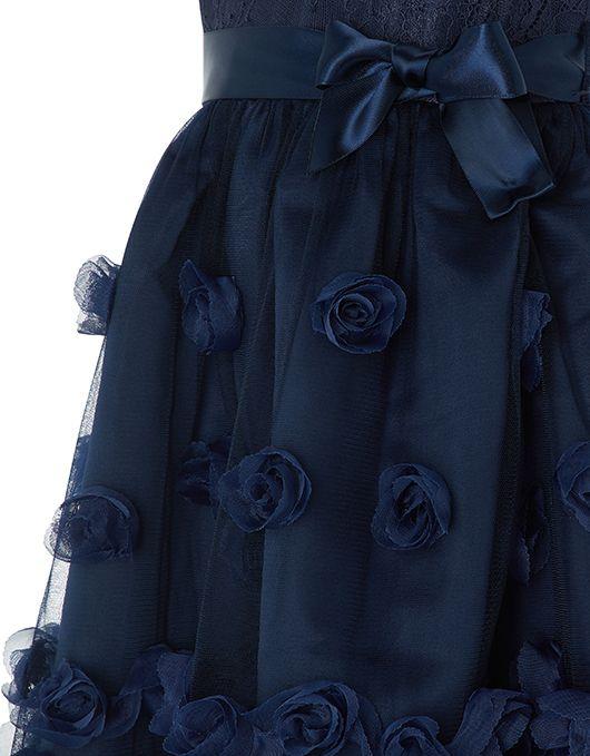 c456d483fcf Baby Ianthe Dress | Navy | 0-3 Months | 6131050602 | Monsoon ...