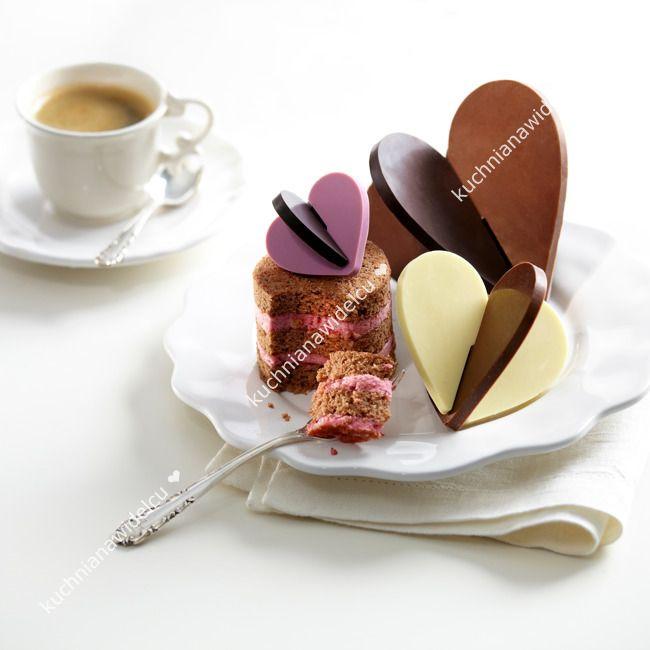 Forma do czekolady - serca | LEKUE 3D