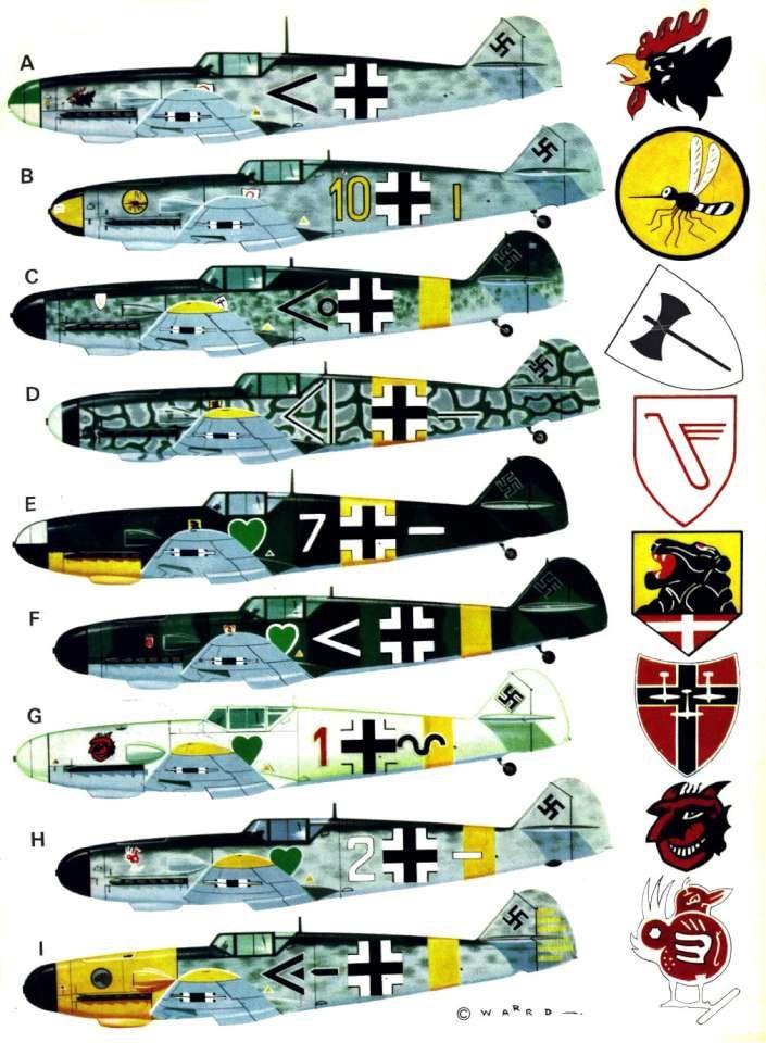 Bf109F Friedrich (184) Page 08-960