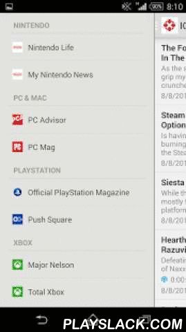 That Gaming App | Gaming News  Android App - playslack.com ,  That Gaming App is the only app you need to keep up-to-date with everything gaming. From this single app you can quickly jump to well-known websites in the video games sector to read the latest gaming news, browse popular gaming forums, listen to podcasts, watch the latest videos, reviews and game trailers and receive push notifications from official sources on breaking news, game releases and blog posts - including the Official…