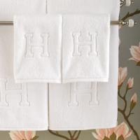 All white monogramsAuberge Bath, Matouk, Gift Ideas, Auberge Towels, Monograms Towels, White Monograms, Bath Towels, Hands Towels, Bathroom
