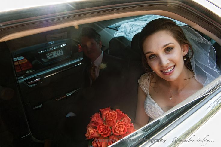 Brisbane Wedding Photographer, Christopher Thomas Photography, Bride arriving at ceremony