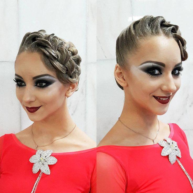 Irina Korolyova в Instagram: «Косы, - так косы... Выясняется, что их великое множество  Новый образ в прическе для нашей чемпионки  Лизы на Don Dance Cup 2017  Мы…»