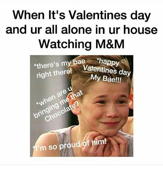 me this Valentine's Day