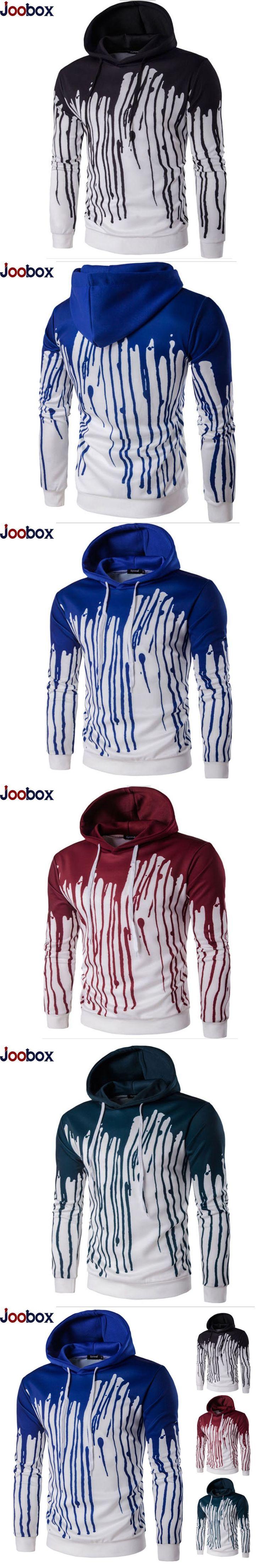 New 2017 Fashion 3D Ink Splash Paint Printing Hoodies Sweatshirts Mens Cotton Zipper Hooded Cardigan Casual Slim Hood Hoodie men