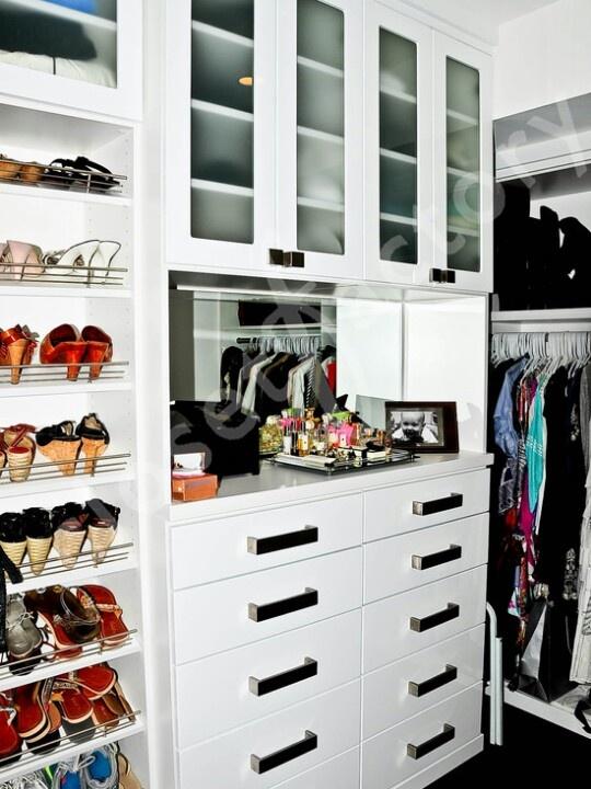 Fun White Modern Walk In Closet   Modern   Closet   Miami   Kay Wade, Closet  Factory, VP Head Designer
