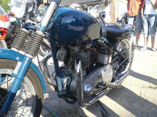 Triumph T100 Bobber 500cc Motorcycle