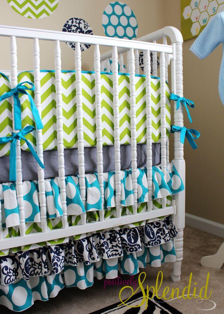 Tutorial on making nursery bedding
