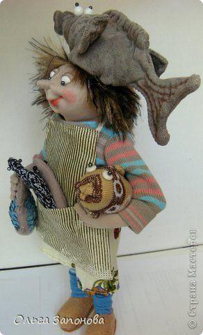Куклы Шитьё Богатый улов Рыбачка Фрости по дизайну Джилл Маас  фото 1