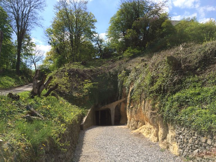 Ingang grot de Zonneberg