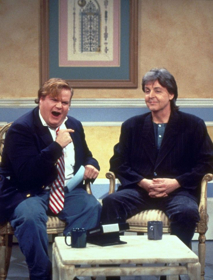 chris farley show paul mccartney snl wonderful christmas