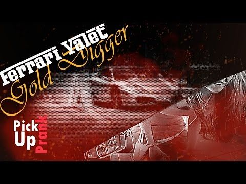 """The """"Valet"""" fails miserably when he tries to pick up a Gold Digger in a Ferrari! Like my Facebook: https://www.facebook.com/LeviathanYouTube Instagram: https://instagram.com/oz_raj/"""