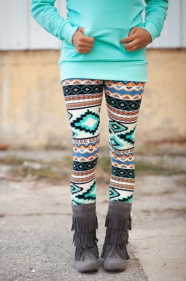 Click to see the AMAZING price for these Mint Aztec Leggings (http://www.mysisterscloset-boutique.com/mint-aztec-leggings/)