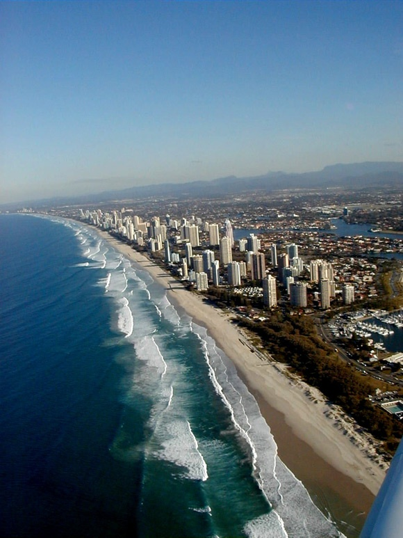 Top 10 Beautiful Beaches in the World, Surfer's Paradise, Australia