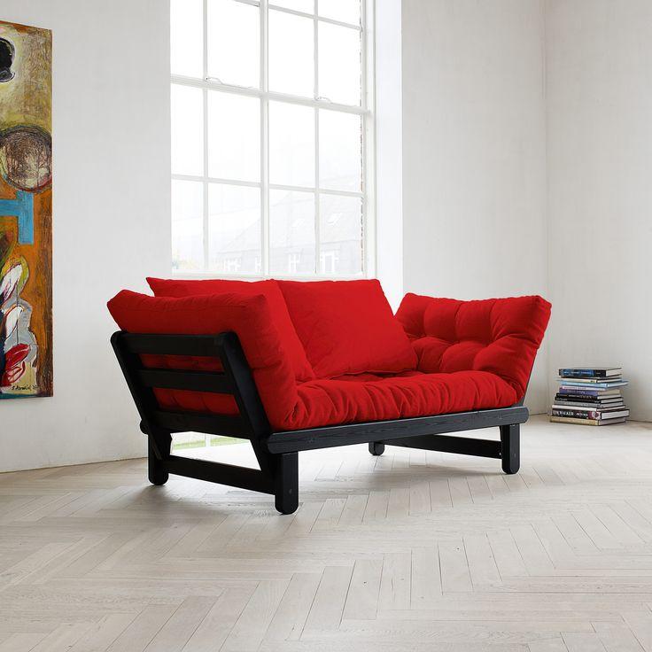 Die besten 25+ Futon wohnzimmer Ideen auf Pinterest Futon Ideen - wohnzimmer sofa rot