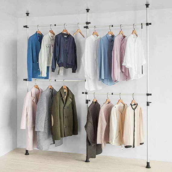 Sobuy Kls03 W Kleiderstander Garderobenstander Mit 4