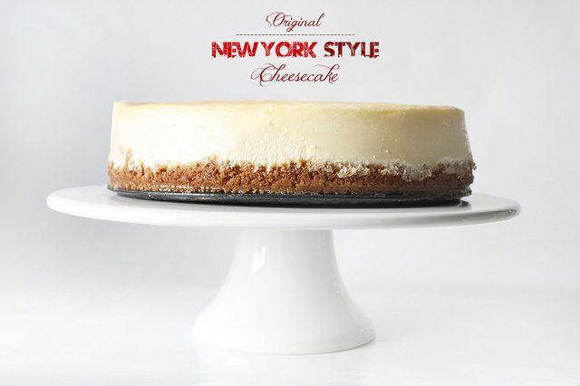 Klassischer New York Style Cheesecake, besser geht's nicht! Der beste Cheesecake!