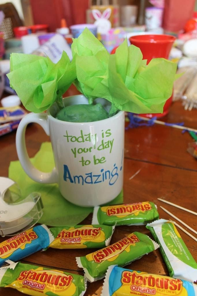 Make A Candy Bouquet In A Coffee Cup | Miss Kopy Kat
