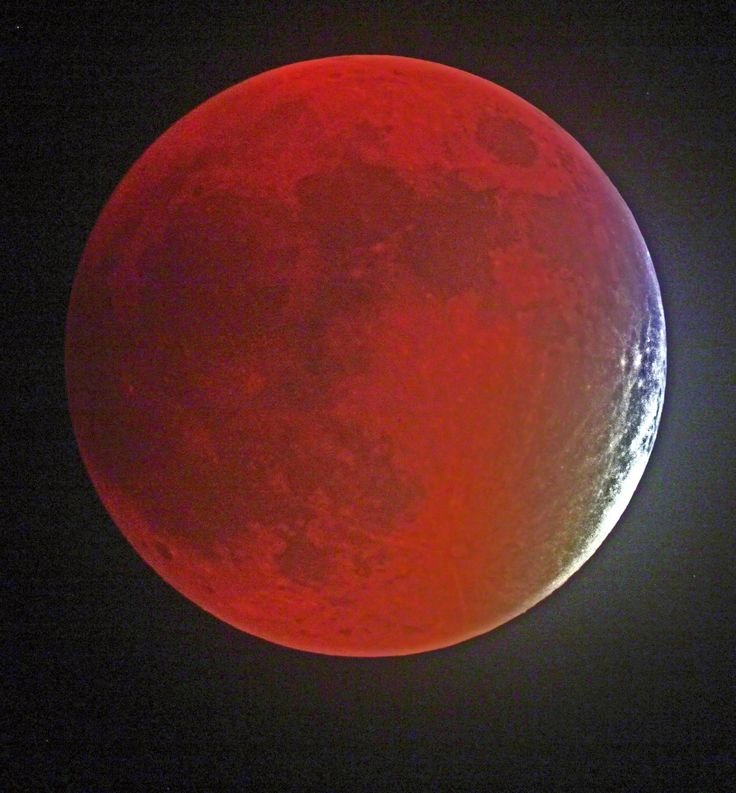 """The first """"supermoon"""" total lunar eclipse in more than three decades did not disappoint photographers."""