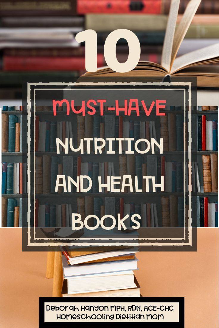 Practical books recommended by a Registered Dietitian who ...