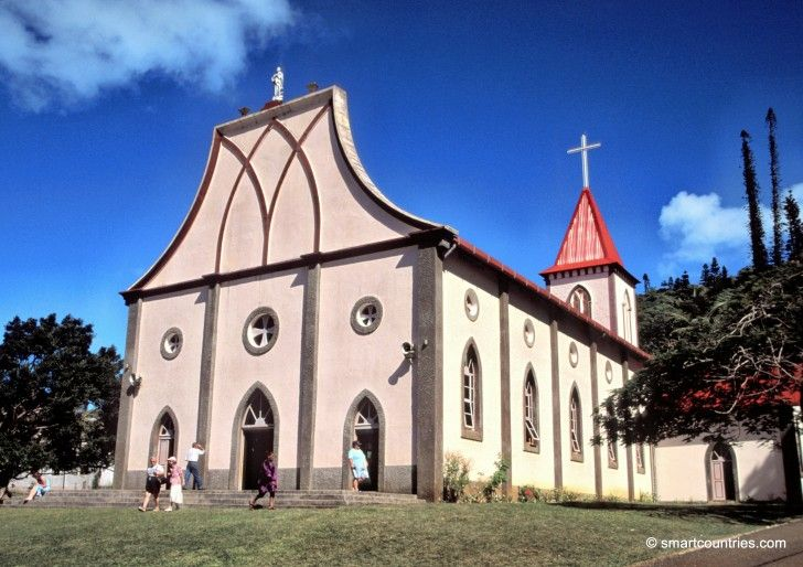 Notre Dame de l'Assomption, Isle of Pines, New Caledonia.