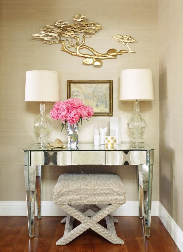 Jeff Andrews Designs A Sparkling Home In Beverly Hills: Glam Vanity
