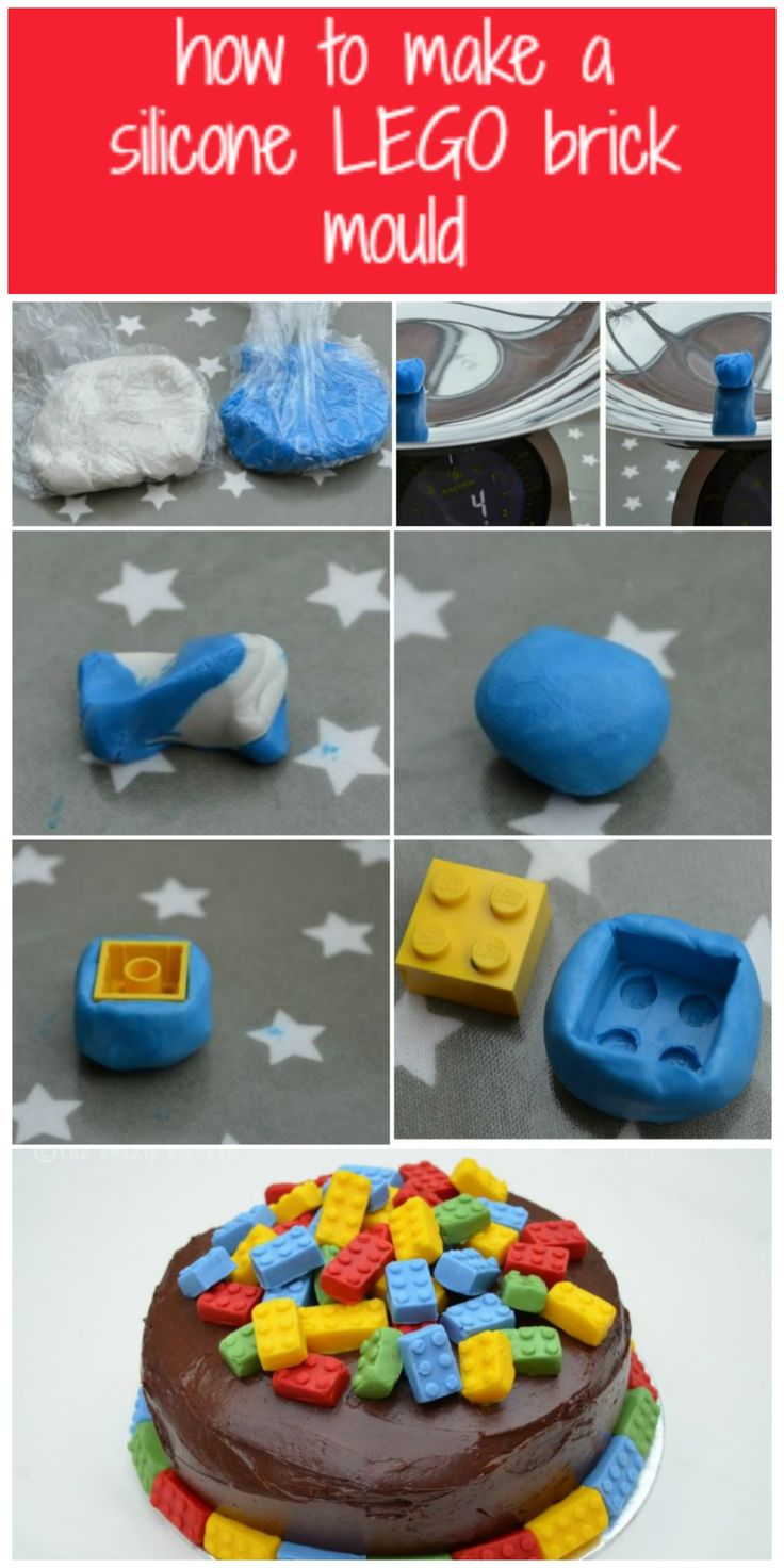 How To Make A Lego Brick Mould From Silicone And Make