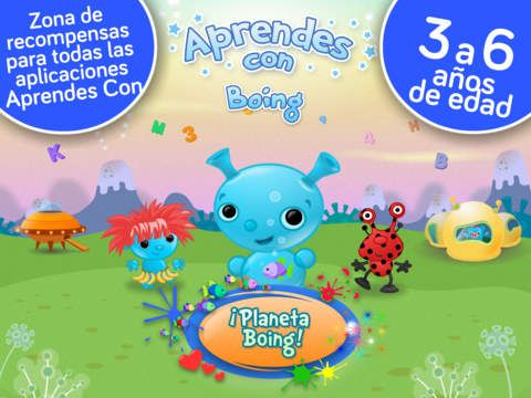 ¡Planeta Boing! Juegos y actividades gratis de creatividad para niños y chicos en kinder y preescolar por Aprendes Con de Tribal Nova