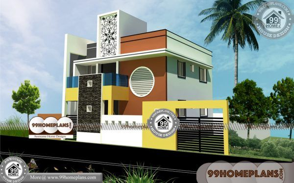 Multi Family House Plans Narrow Lot 90 Double House Design Online House Arch Design Model House Plan Family House Plans